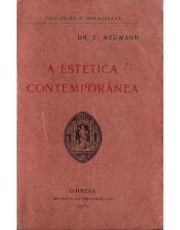 A Estética Contemporânea | de E. Meumann