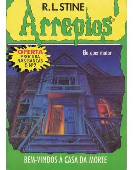 Arrepios - Bem-Vindos à Casa da Morte | de R.L. Stine
