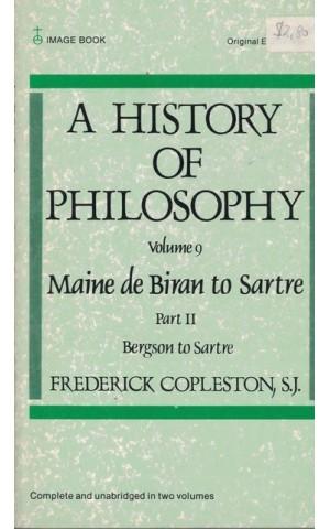 A History of Philosophy - Volume 9 Part II | de Frederick Copleston
