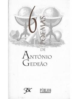 6 Poemas de António Gedeão