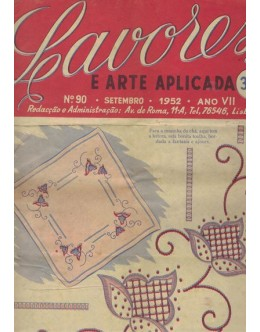 Lavores e Arte Aplicada - Ano VII - N.º 90 - Setembro de 1952