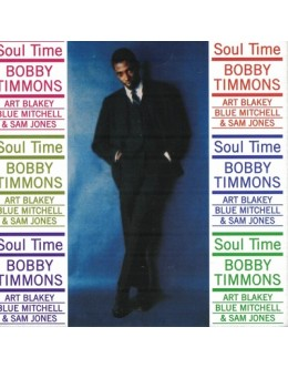 Bobby Timmons | Soul Time [CD]