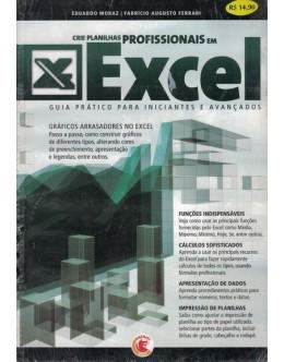 Crie Planilhas Profissionais em Excel | de Eduardo Moraz e Fabrício Augusto Ferrari