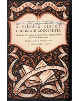 A Poesia Lírica Cultista e Conceptista