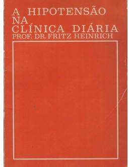 A Hipotensão na Clínica Diária | de Fritz Heinrich