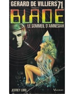 Blade - Le Sommeil d'Amnesiah | de Jeffrey Lord