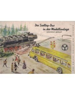 Der Trolley-Bus in der Modellanlage