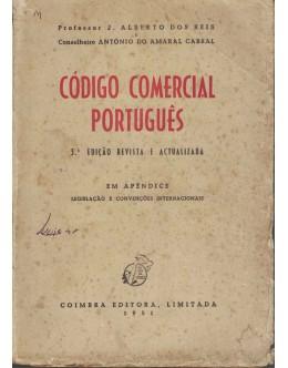 Código Comercial Português | de J. Alberto dos Reis e António do Amaral Cabral