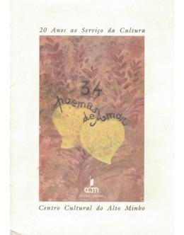 34 Poemas de Amor | de Vários Autores