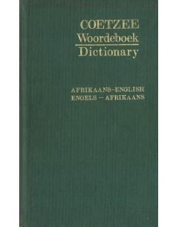 Coetzee Woordeboek Dictionary Afrikaans-English Engels-Afrikaans