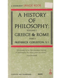 A History of Philosophy - Volume 1 Part I | de Frederick Copleston