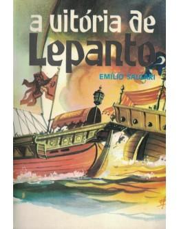 A Vitória de Lepanto | de Emílio Salgari