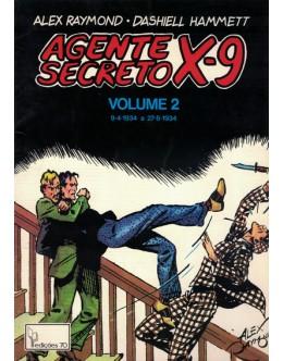 Agente Secreto X-9 - Volume 2 | de Alex Raymond e Dashiell Hammett