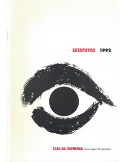 Casa da Imprensa - Associação Mutualista: Estatutos 1992