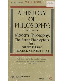 A History of Philosophy - Volume 5 Part II | de Frederick Copleston