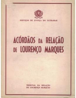Acórdãos da Relação de Lourenço Marques - Vol. XXXI (Anos de 1964 e 1965)