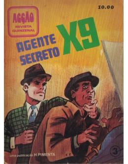 Acção - Agente Secreto X-9 - N.º 3