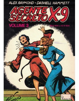Agente Secreto X-9 - Volume 3 | de Alex Raymond e Dashiell Hammett