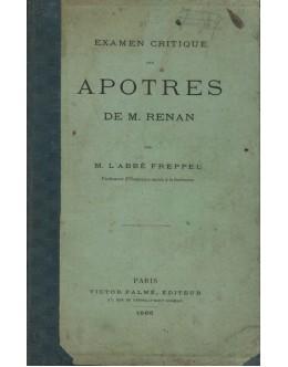 Examen Critique des Apotres de M. Renan   de M. L'Abbé Freppel
