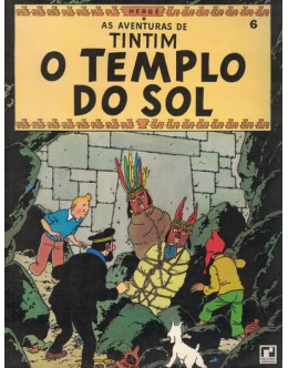 As Aventuras de Tintim - O Templo do Sol | de Hergé