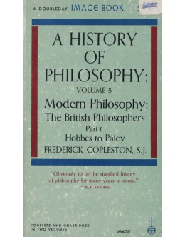 A History of Philosophy - Volume 5 Part I | de Frederick Copleston
