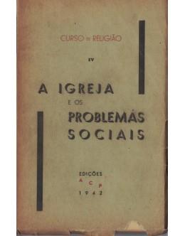 A Igreja e os Problemas Sociais