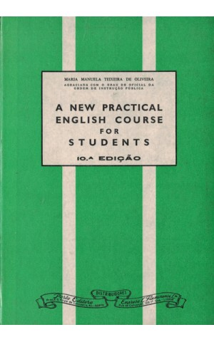 A New Practical English Course for Students | de Maria Manuela Teixeira de Oliveira