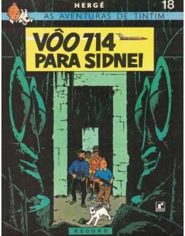 As Aventuras de Tintim - Vôo 714 Para Sidnei | de Hergé