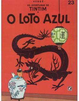 As Aventuras de Tintim - O Loto Azul | de Hergé