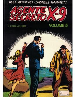 Agente Secreto X-9 - Volume 5 | de Alex Raymond e Dashiell Hammett