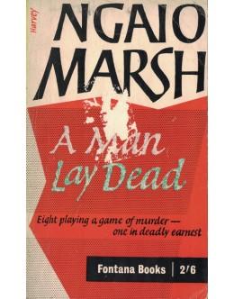 A Man Lay Dead | de Ngaio Marsh
