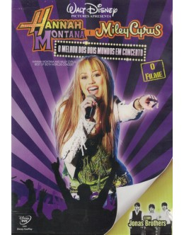 Hanna Montana e Miley Cyrus: O Melhor dos Dois Mundos, em Concerto [DVD]