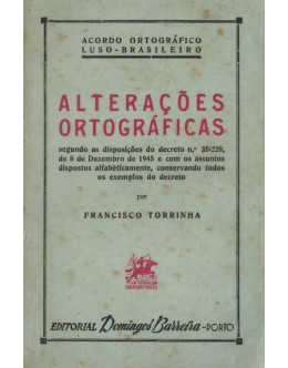 Alterações Ortográficas | de Francisco Torrinha