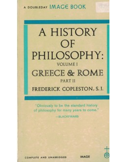 A History of Philosophy - Volume 1 Part II | de Frederick Copleston