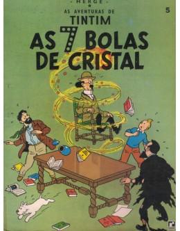 As Aventuras de Tintim - As 7 Bolas de Cristal   de Hergé