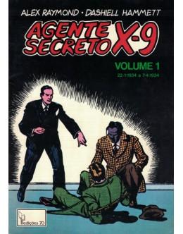 Agente Secreto X-9 - Volume 1 | de Alex Raymond e Dashiell Hammett