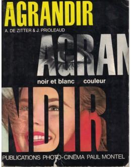 Agrandir - Noir et Blanc / Couleur | de A. de Zitter e J. Prioleaud