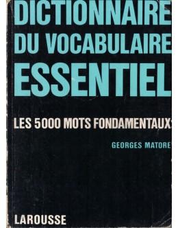 Dictionnaire du Vocabulaire Essential   de Georges Matoré