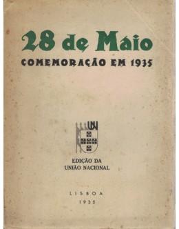 28 de Maio - Comemoração em 1935