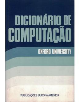 Dicionário de Computação | de Oxford University