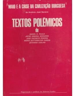 """""""Maio e a Crise da Civilização Burguesa"""" de António José Saraiva - Textos Polémicos"""