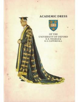 Academic Dress of the University of Oxford | de D. R. Venables e R. E. Clifford M.A.