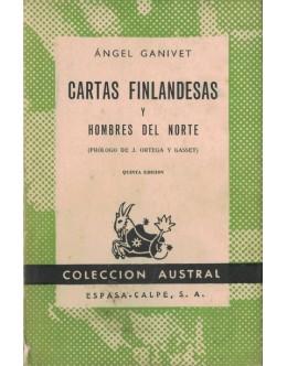 Cartas Finlandesas y Hombres del Norte | de Ángel Ganivet