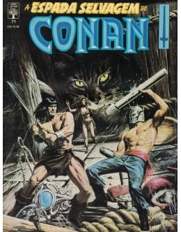 A Espada Selvagem de Conan N.º 71