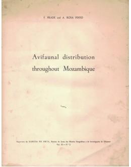 Avifaunal Distribution Throughout Mozambique | de F. Frade e A. Rosa Pinto