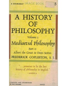 A History of Philosophy - Volume 2 Part II | de Frederick Copleston