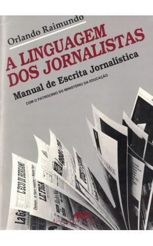 A Linguagem dos Jornalistas | de Orlando Raimundo