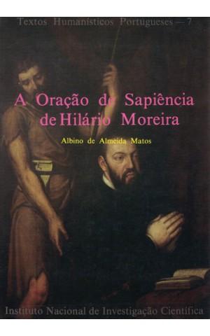 A Oração de Sapiência de Hilário Moreira | de Albino de Almeida Matos