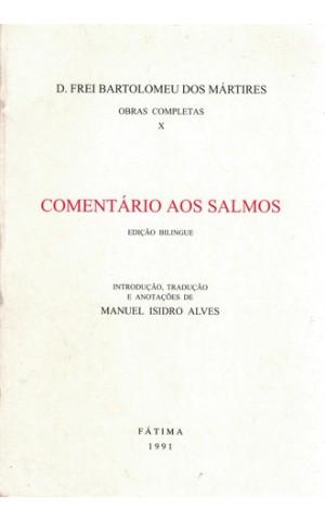 Comentário Aos Salmos | de D. Frei Bartolomeu dos Mártires