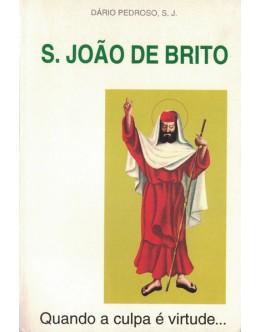 S. João de Brito - Quando a Culpa é Virtude... | de Dário Pedroso